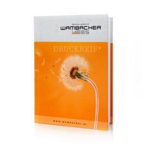 Notizbuch Wambacher Vorderansicht
