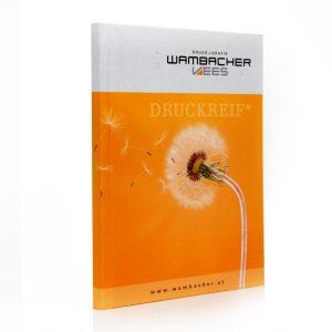 Notizbuch Wambacher Seitenansicht